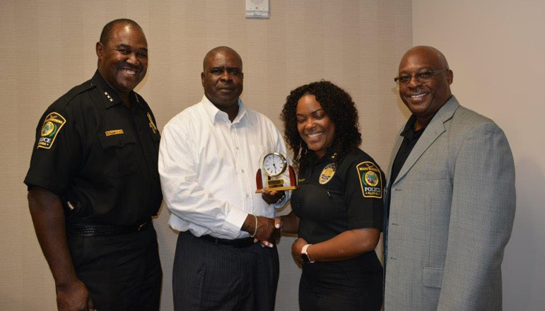 Rbpf commissioner of police anthony ferguson meets - Social security office miami gardens ...
